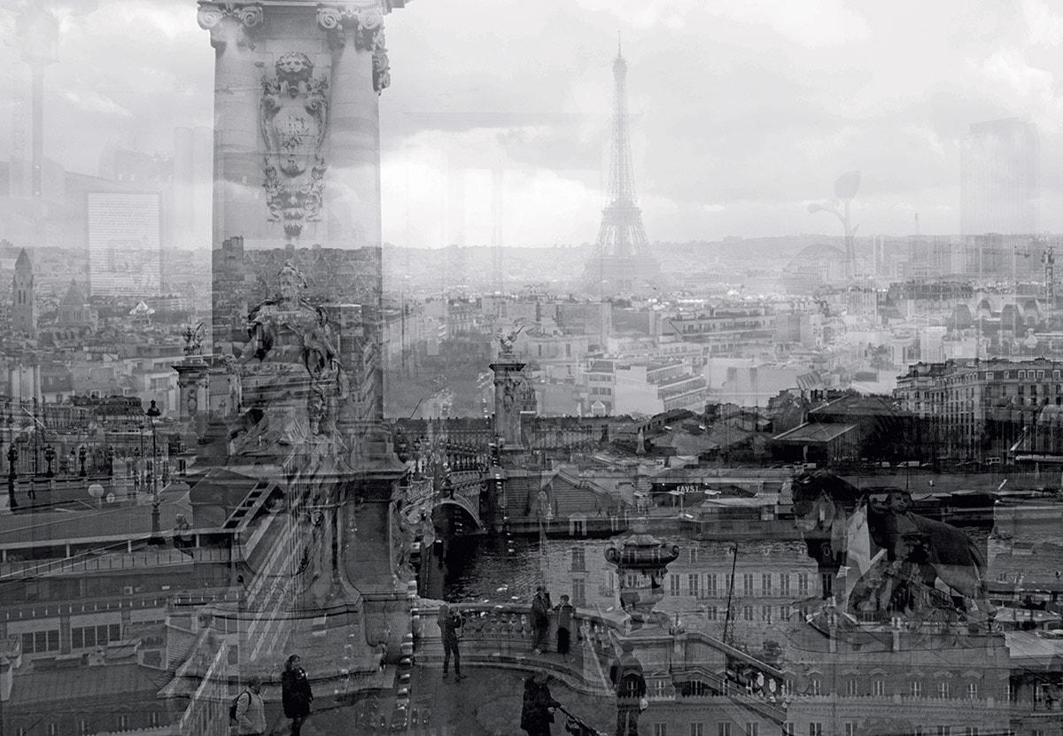 DAVIDE BRAMANTE - Parigi dal bianco al nero